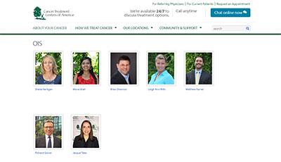Live Expert Anywhere CTCA Website Profiles