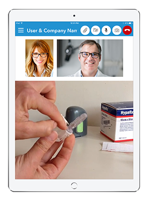 Live Expert Mobility iPad Live Support Services Content Sharing Video Demonstration