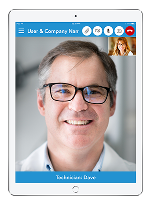 Live Expert Mobility iPad Live Support Services In Call