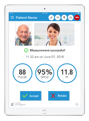 LE Mobility Home Healthcare iPad Vertical 11.2 Measurements Video - Old Man