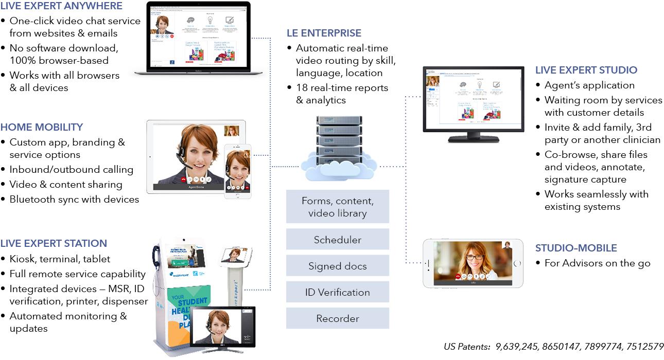 Live Expert System Diagram